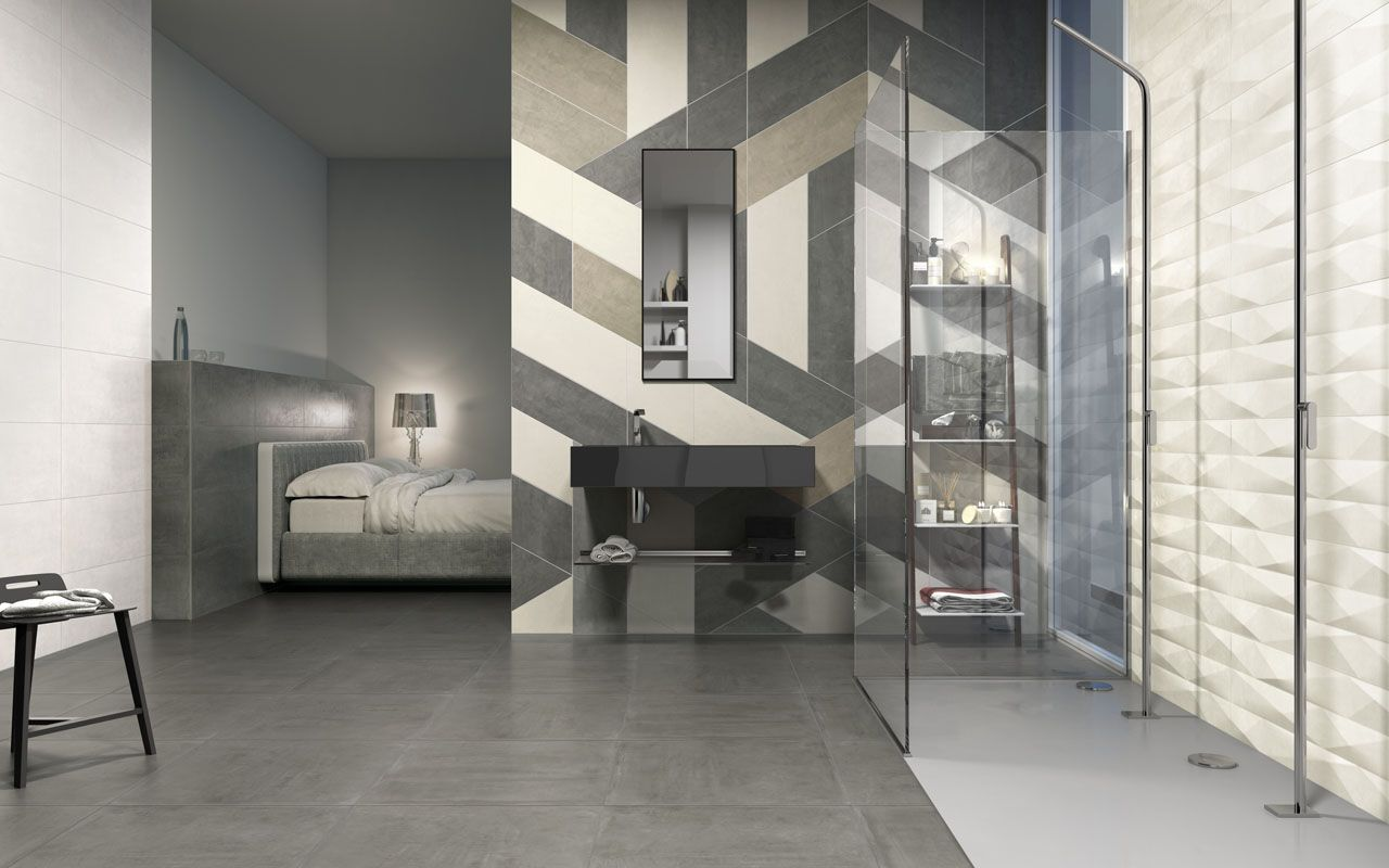 carrelage salle de bain - ceramix - Carrelage Salle De Bain Grand Format