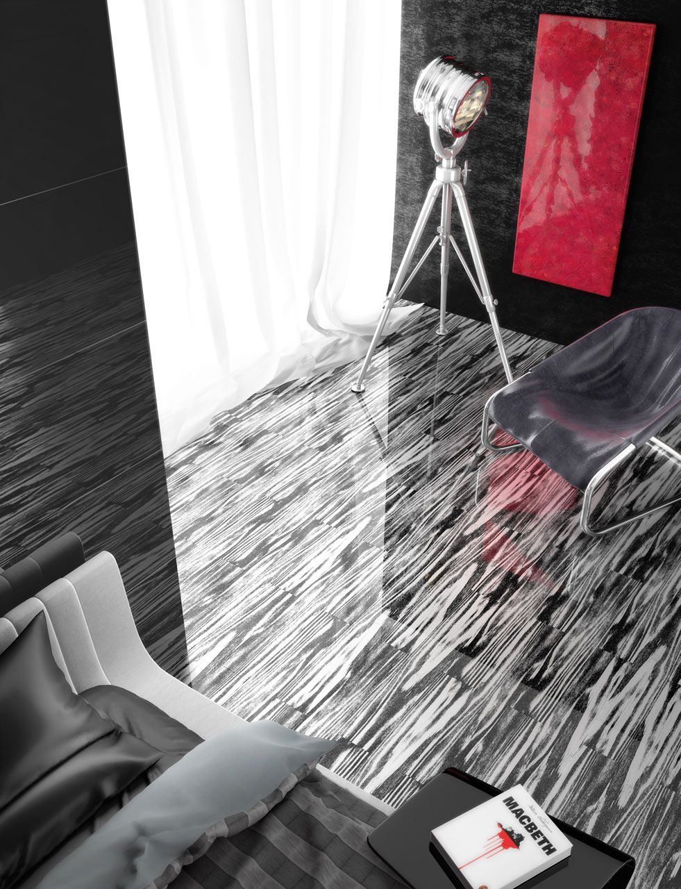 carrelage salle de bain ceramix. Black Bedroom Furniture Sets. Home Design Ideas